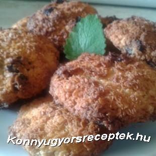 Aszaltszilvás-zabpelyhes kókusztallér recept