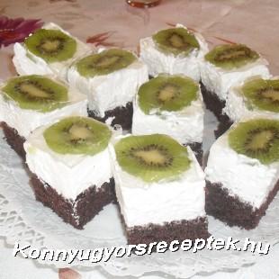 Kiwi kocka recept