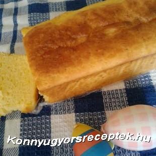 Citromos húsvéti kalács recept