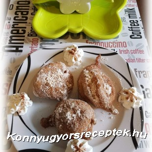 Gluténmentes Fahéjas Ördögpirula recept
