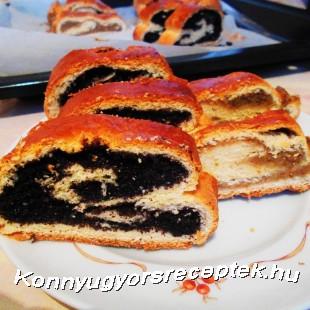 Bejgli (gyors, kelesztés nélkül) recept