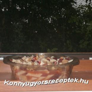 chilis babos-gombás tészta recept