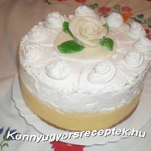 Felhő torta recept