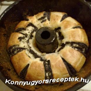 Mákos tekercs recept