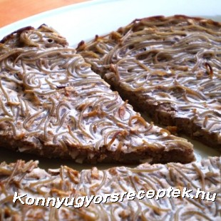 Diétás proteines sült tészta recept