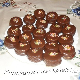 Gluténmentes csokis linzer recept