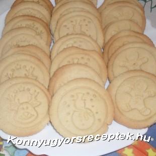 Pecsétes keksz recept
