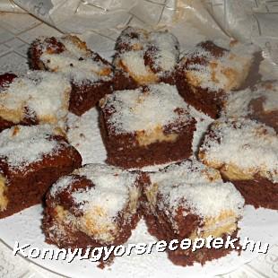 Kakaós-kókuszos kevert recept
