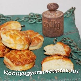 Egyszerű krumplis pogács recept
