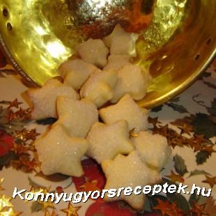 Karácsonyi csillagok recept
