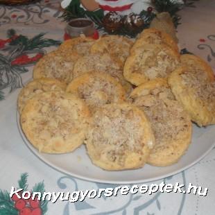 Preckedli (diós linzer) recept
