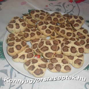 Párduc keksz ( gluténmentes) recept