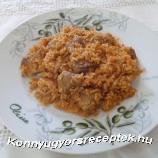 Rizses hús recept
