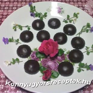 Csokoládés falatkák recept