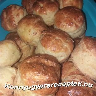 Szénhidrát csökkentett Túrós pogácsa recept