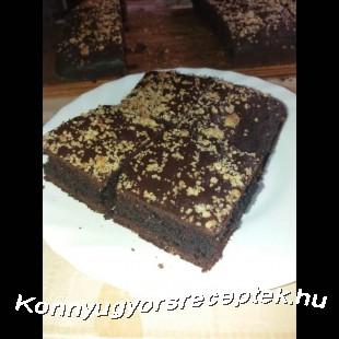 Könnyű Gyors Szénhidrátcsökkentett brownie  recept