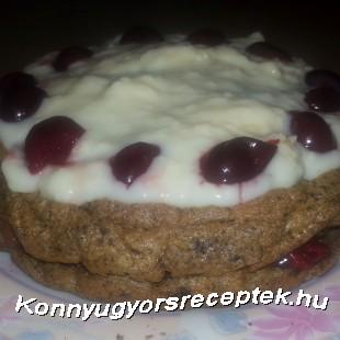 Feketeerdő torta recept