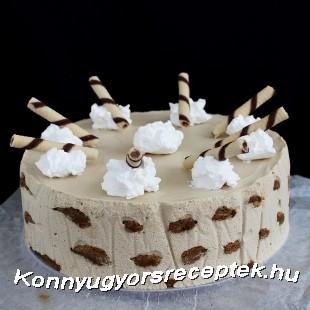 Kávés Malakoff-torta recept
