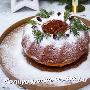 Karácsonyi stollen kuglóf recept
