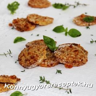 Zabpelyhes-sós keksz recept