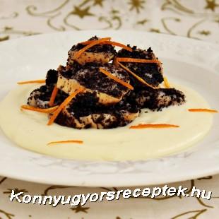 Mákos guba vanília sodóval recept