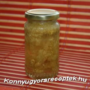 Gyömbéres fokhagymás méz recept