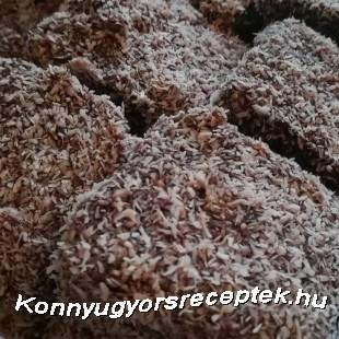 Kókuszkocka (picit másképp) recept