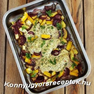 Krémsajtos-fűszeres csirkemell recept
