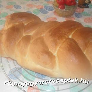 Sós ( kenyér)kalács recept