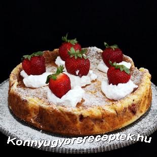 Epres sült túrótorta recept