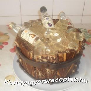 Rumos csokis pasi torta recept