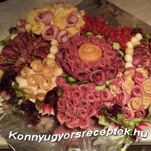 Szendvics torta recept