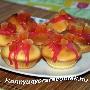 Farsangi muffin recept
