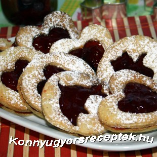 Zselés Linzer recept