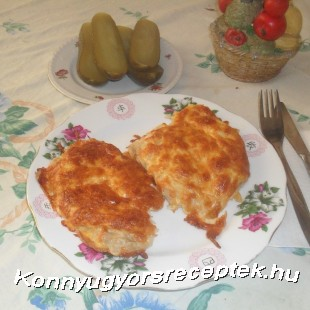 Sajtbundában sült sertéskaraj recept