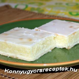 Ropogós citromos sütemény recept