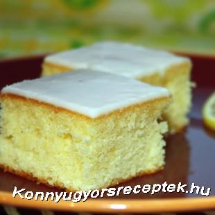 Citromos sütemény recept