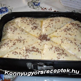 Kombe- töltött kenyér recept