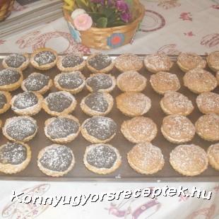 Diós-mákos kosárka recept