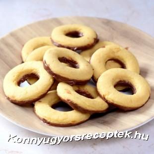 Vaníliás karika recept