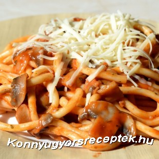 Milánoi makaróni recept