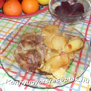 Fűszeres tarja pékné módra recept