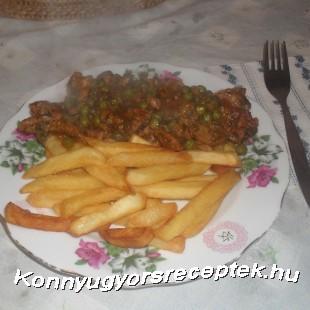 Borsós tokány recept