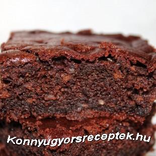 Tejberizses brownie (cukormentes, teljes kiőrlésű)) recept