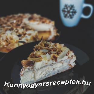 Svéd mandulatorta (cukormentes) recept