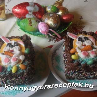 Húsvéti zsúrtorta recept