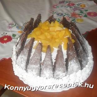 Kilimandzsáró torta recept
