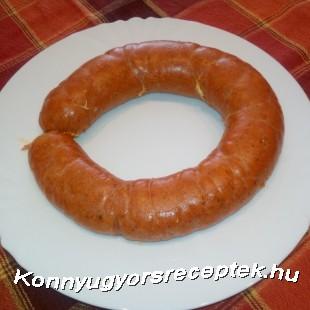 Dió kolbász (VEGA) recept