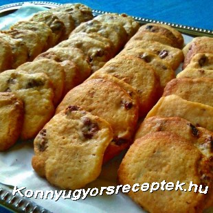 Hűtős cookies recept