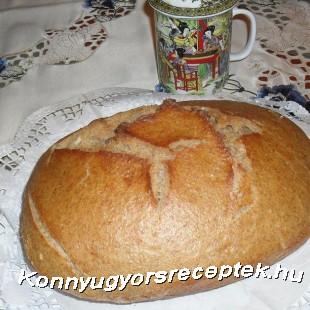Wellness kenyér  recept